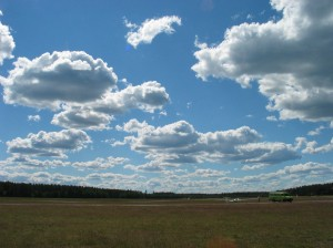 Perfect Finnish Sky
